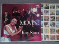 "KAY STARR - MOVIN'! (Ex+/Ex+++ )  / 1959 US AMERICA ORIGINAL ""BLACK with RAINBOR Ring & CAPITOL Logo on LEFT SIDE"" Label MONO  Used LP"