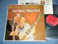 LES PAUL & MARY FORD  - WARM AND WONDERFUL  / 1962 US ORIGINAL 6 EYES Label  Mono Used LP