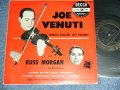 "JOE VENUTI With RUSS MORGAN - WORLD GREATEST JAZZ VIOLINIST  /1950's US ORIGINAL 10""LP"