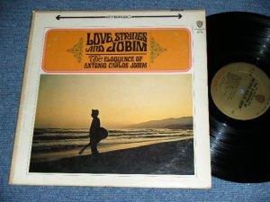 画像1: ANTONIO CARLOS JOBIM - LOVE STRINGS AND JOBIM (VG++/Ex+ Looks: Ex-) / 1966 US AM,RICA ORIGINAL 1st Press GOLD Label STEREO Used LP