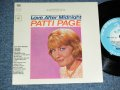"PATTI PAGE - LOVE AFTER MIDNIGHT  (Ex++/Ex,Ex++ ) / 1964 US ORIGINAL 6 TRACKS JUKEBOX EP Used 7"" 33 rpm EP"