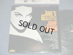 画像1: JULIE LONDON - JULIE'S GOLDEN GREATS ( BLACK JACKET 1st PRESS  ) / 1963 US AMERICA ORIGINAL STEREO Used LP