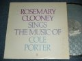 ROSEMARY CLOONEY - SINGS THE MUSIC OF COLE POTER ( Ex++/MINT- ) / 1982 US AMERICA ORIGINAL Used LP