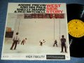 "ANDRE PREVIN and His PALS SHELLY MANNE & RED MITCHELL  - WEST SIDE STORY ( Ex+++/MINT- ) / 1959 US AMERICA ORIGINAL ""YELLOW Label with BLACK Print Label"" MONO Used LP"