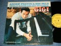 "ANDRE PREVIN and His PAL ( SHELLY MANNE & RED MITCHELL )  - ""GIGI""  / 1958 US AMERICA ORIGINAL ""YELLOW Label"" MONO Used LP"