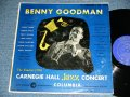 "BENNY GOODMAN - CARNEGIE HALL JAZZ CONCERT ( Ex/Ex++)  / 1950 US ORIGINAL ""DARK BLUE  Label"" MONO  Used LP"