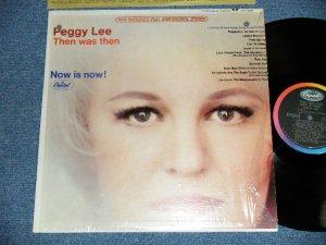"""画像1: PEGGY LEE - THEN WAS THEN ( MINT-/Ex+++ )  / 1965 US ORIGINAL """"BLACK With RAINBOW Label"""" STEREO Used LP"""