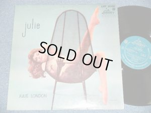 "画像1: JULIE LONDON - JULIE  ( Turquoise color Label Ex++/Ex+++) / 1957 MONO ""1st PRESS Turquoise Color LABEL"" Used LP"