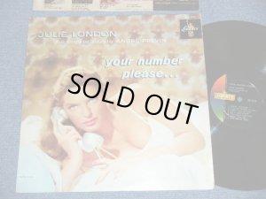 """画像1: JULIE LONDON - YOUR NUMBER PLEASE (Ex++/MINT-). / 1960 Version US AMERICA ORIGINAL 2nd Press """"COLOR LIBERTY on LEFT  Labei"""" MONO Used LP"""