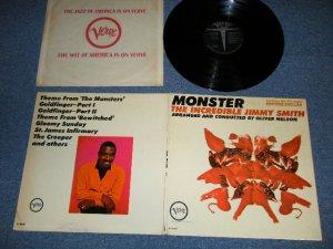 画像1: JIMMY SMITH  - THE INCREDIBLE JIMMY SMITH: MONSTER ( Ex+++,VG+++,Ex+ / Ex+++ )  / 1965 US AMERICA ORIGINAL MONO Used LP