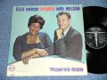 "ELLA FITZGERALD with NELSON RIDDLE  - ELLA SINGS BIGHITLY WITH NELSON (Ex++, Ex-/Ex+++)   /  1962 US ORIGINAL ""MGM at BOTTOM Label"" MONO   Used LP"