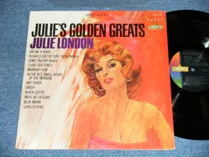 "画像1: JULIE LONDON - JULIE'S GOLDEN GREATS ( COLOR JACKET: Ex+/MINT-) / 1963 US AMERICA ORIGINAL ""OLD Style 1st Press Label"" STEREO Used LP"