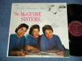 "THE McGUIRE SISTERS - DO YOU REMEMBER WHEN?  ( Ex++/Ex+ B-3:VG)  / 1956  US ORIGINAL 1st Press "" MAROON Label"" MONO Used LP"