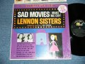 THE LENNON SISTERS with BILLY VAUGHN - SAD MOVIES ( MINT-/Ex+++) / 1961  US AMERICA ORIGINAL STEREO Used LP