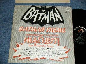 "画像1: ""BATMAN THEME "" ost Sound Track - NEAL HEFTI  (Ex/Ex++)  / 1966 US AMERICA ORIGINAL MONO Used LP"