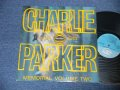 CHARLIE PARKER - PARKER MEMORIAL VOL.2 ( Ex+++/Ex+++) / 1963  UK ENGLAND  ORIGINAL  MONO Used LP