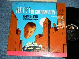 画像1: NEAL HEFTI AND HIS ORCHESTRA AND CHORUS   -  HEFTI  IN GOTHAM CITY ( Ex+/Ex+ Looks: Ex+++)  / 1966 US AMERICA ORIGINAL STEREO  Used  LP