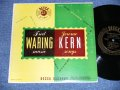 "FRED WARING and His PENNSYLVANIANS / JEROME KERN - FRED WARING  MUSIC  JEROME KERN SONGS ( Ex+/Ex+ )  / 1950's  US AMERICA ORIGINAL MONO  Used 10"" LP"