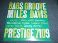 "MILES DAVIS and The MODERN JAZZ GIANTS -  BAGS GROOVE ( SEALED ) / US AMERICA Reissue RE-PRESS ""Brand New Sealed"""
