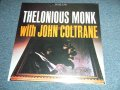 "THELONIOUS MONK  with JOHN COLTRANE  - THELONIOUS MONK  with JOHN COLTRANE   ( SEALED ) / US AMERICA Reissue RE-PRESS ""Brand New Sealed"""