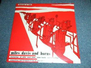 """画像1: MILES DAVIS -   MILES DAVIS AND HORNS  ( SEALED ) / US AMERICA Reissue RE-PRESS """"Brand New Sealed"""""""