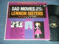 THE LENNON SISTERS with BILLY VAUGHN - SAD MOVIES ( Ex+/Ex+ ) / 1961  US AMERICA ORIGINAL STEREO Used LP