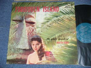 "画像1: MARTIN DENNY -  FORBIDDEN ISLAND  ( Ex++,Ex+/Ex+++, Ex++)   / 1958 US AMERICA ORIGINAL ""1st Press TURQUOISE Label"" MONO Used   LP"