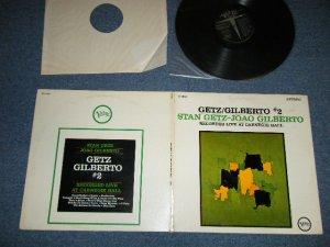 画像1: STAN GETZ + JOAO GILBERTO   -  GETZ/GILBERTO RECORDED LIVE AT CARNEGIE HALL  ( Ex++/Ex+++ )  / 1965 US AMERICA ORIGINAL STEREO  Used LP