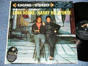 画像1: LENA  HORNE / HARRY BELAFONTE -  PORGY AND BESS ( Ex-/Ex+ : EDSP ) / 1959 US ORIGINAL STEREO Used  LP