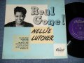 "NELLIE LUTCHER - REAL GONE!  (Ex+/Ex++ Looks:Ex+ : EDSP)   /1950 US AMERICA ORIGINAL Used 10""LP"