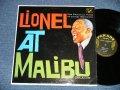LIONEL HAMPTON - LIONEL AT MALIBU BEACH   ( Ex++/Ex+++ )  / 1961 US AMERICA ORIGINAL STEREO Used  LP