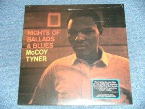 """画像1: McCOY TYNER - NIGHTS OF BALLADS & BLUES   ( SEALED ) / US AMERICA """"180 gram Heavy Weight""""  """"BRAND NEW SEALED""""  LP"""