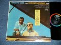 "NAT KING COLE GEORGE SHEARING  - NAT KING COLE sings /GEORGE SHEARING plays  (Ex++/Ex++) / 1963 US AMERICA ORIGINAL 2nd Press ""BLACK with RAINBOW Band with CAPITOL Logo on TOP Label""  MONO  Used LP"