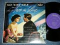 "NAT KING COLE - SINGS TWO IN LOVE ( Ex+/Ex++) / 1953 US AMERICA ORIGINAL  1st Press ""PURPLE Label ""  ""1st Press WHITE CAPITOL Logo on Front Top Cove"" MONO  Used 10"" L"