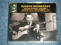 "DJANGO REINHARDT  -  GUITAR LEGEND-VOL.1  MARCH 1935-SEPTEMBER 1937 ( SEALED ) / 2015 EUROPE ""BRAND NEW SEALED"" 4-CD's Set"