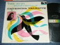 "CATERINA VALENTE - THE HI-FI NIGHTINGALE ... ( Ex/Ex+++,Ex+ ) / 19560's US ORIGINAL 2nd Press ""BLACK with RAINBOW Color Label"" MONO Used LP"