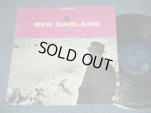 """画像1: RED GARLAND - WHEN THERE ARE GREY SKIES ( Ex++/Ex+++ : EDSP) / US AMERICA """"1964-1967 VERSION """" """"Dark Blue with TRIDENT Logo on The RING,with 203 SWASHINGTON AVE. NJ logo Label"""" """" Used LP"""