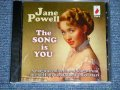 "JANE POWEL - THE SONG IS YOU  ( SEALED )  / 2015 UK ENGLAND ORIGINAL ""BRAND NEW SEALED""  CD"