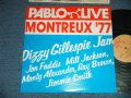 DIZZY GILLESPIE, JAN FADDIS, MILT JACKSON, MONTY ALEXANDER, RAY BROWN, JIMMIE SMITH - PABLO LIVE MONTREUX '77 (MINT-/MINT)  / 1974 US AMERICA ORIGINAL  Used LP