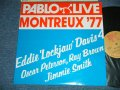 EDDIE 'LOCKJAW' DAVIS,OSCAR PETERSON, RAY BROWN, JIMMIE SMITH - PABLO LIVE MONTREUX '77 (MINT-/MINT)  / 1974 US AMERICA ORIGINAL  Used LP