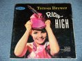 "TERESA BREWER - RIDIN' HIGH / 1960 US AMERICA ORIGINAL ""MAROON Label"" MONO Used LP"
