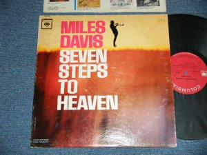 "画像1: MILES DAVIS  -  SEVEN STEPS TO HEAVEN (Ex-/Ex+++) / 1963 US ORIGINAL  ""2 EYE'S with GURANTEED HIGH FIDELITY on BOTTOM Label""  MONO Used LP"