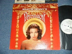 "画像1: MARTIN DENNY -  EXOTIC PERCUSSION (Ex++/Ex++)   / 1961 US AMERICA ORIGINAL ""WHITE LABEL PROMO""  MONO Used   LP"