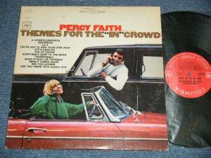 """画像1: PERCY FAITH -  THEMES FOR THE """"IN"""" CROWD ( Ex+/Ex+++, B-4,5,6:EX)   / 19662 US AMERICA ORIGINAL """"WHITE  360 SOUND Label"""" Stereo Used LP"""
