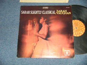 "画像1: SARAH VAUGHAN - SARAH VAUGHAN  CLASSICAL  (Ex++/Ex+++)   / 1966  US AMERICA ORIGINAL  1st Press ""ORANGE & YELLOW ROULETTE Label"" STEREO Used LP"