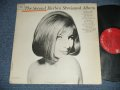 "BARBRA STREISAND  - THE SECOND BARBRA STREISAND ALBUM  ( Ex++/Ex+++)   / 1963  US AMERICA ORIGINAL ""1st Press 2 EYES with GURANTEED High Fidelity on Label"" MONO Used LP"