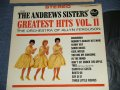 THE ANDREWS SISTERS - THE  ANDREWS SISTERS' GREATEST HITS VOL.II (Ex+/MINT-) / 1963  US ORIGINAL STEREO  Used  LP
