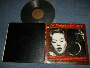 "画像1: The MAL WALDRON TRIO  - SINGERS 'N SWINGERS  (Ex/MINT-EDSP)  1960 US9 AMERICA ORIGINAL ""With SONG SHEET"" Used LP"
