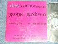 "CHRIS CONNOR - SINMGS THE GERSHWIN (Ex++/Ex++ )   / 1957 US AMERICA ORIGINAL Used 7"" 45 rpm EP With PICTURE SLEEVE"