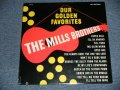 "The MILLS BROTHERS - OUR GOLDEN FAVORITES  ( SEALED Cut Out)  / US AMERICA REISSUE ""BRAND NEW SEALED""  LP"